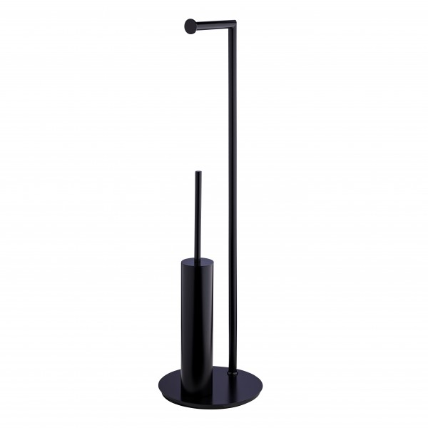 SIDE round matt black AL6